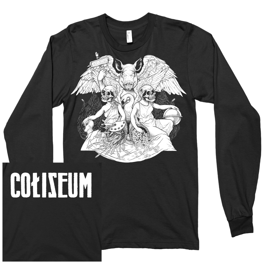 "Coliseum ""Pig God"" Black Longsleeve"