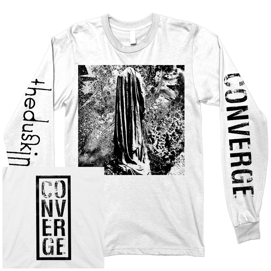 "Converge ""The Dusk In Us"" White Longsleeve"