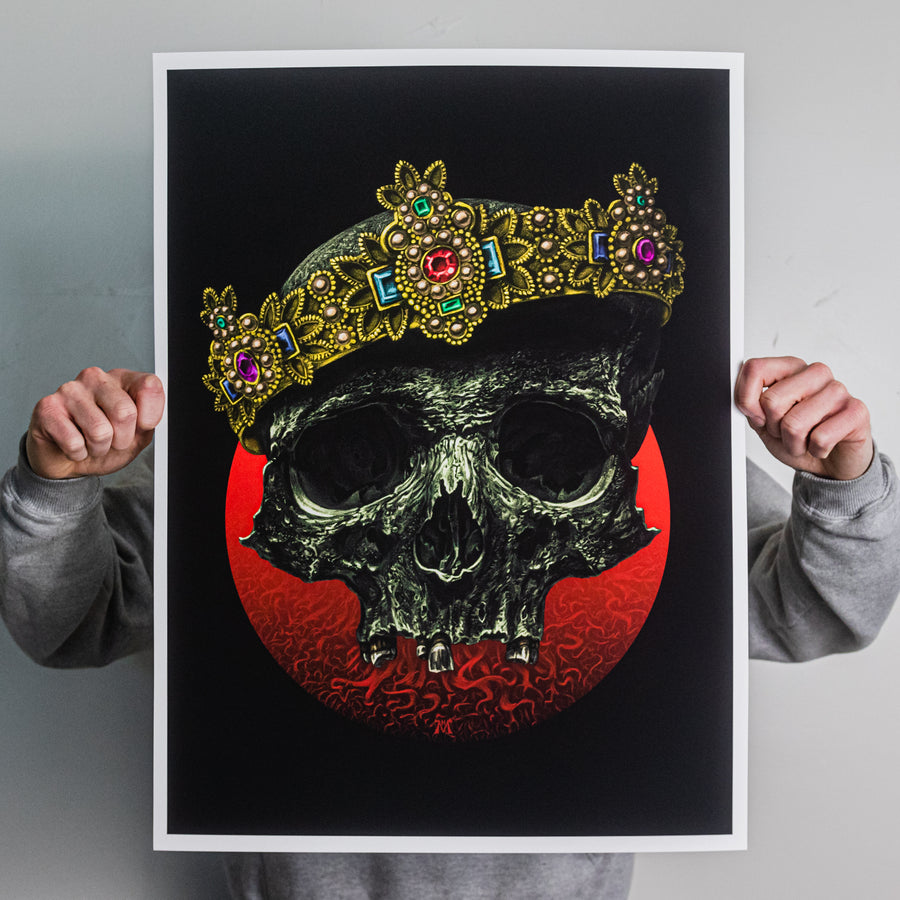 "Marald Van Haasteren ""The Great Equalizer: Red"" Giclee Print"