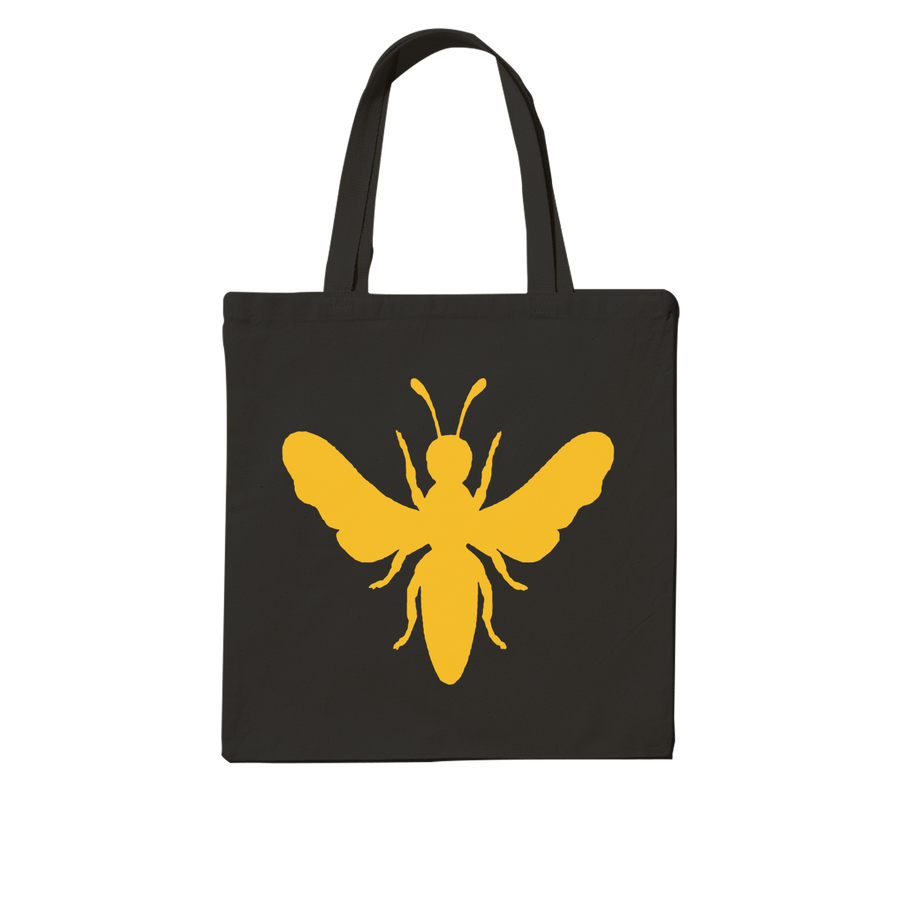 "The Martin Hives Co. ""Raw Connecticut Honey"" Black Tote Bag"