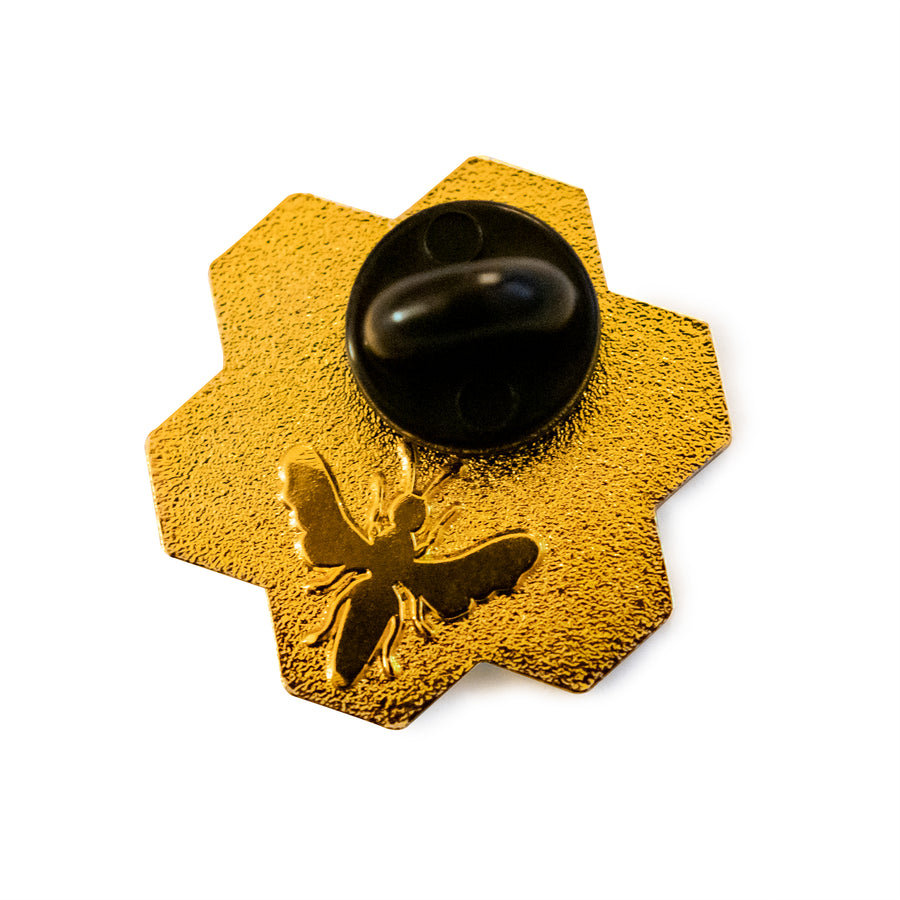 "The Martin Hives Honey Co. ""Hive"" Enamel Pin"