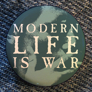 "Modern Life Is War ""Smoker"" Button"