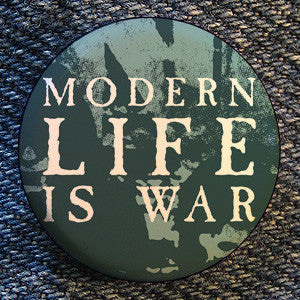 "Modern Life Is War ""Ramones"" Button"