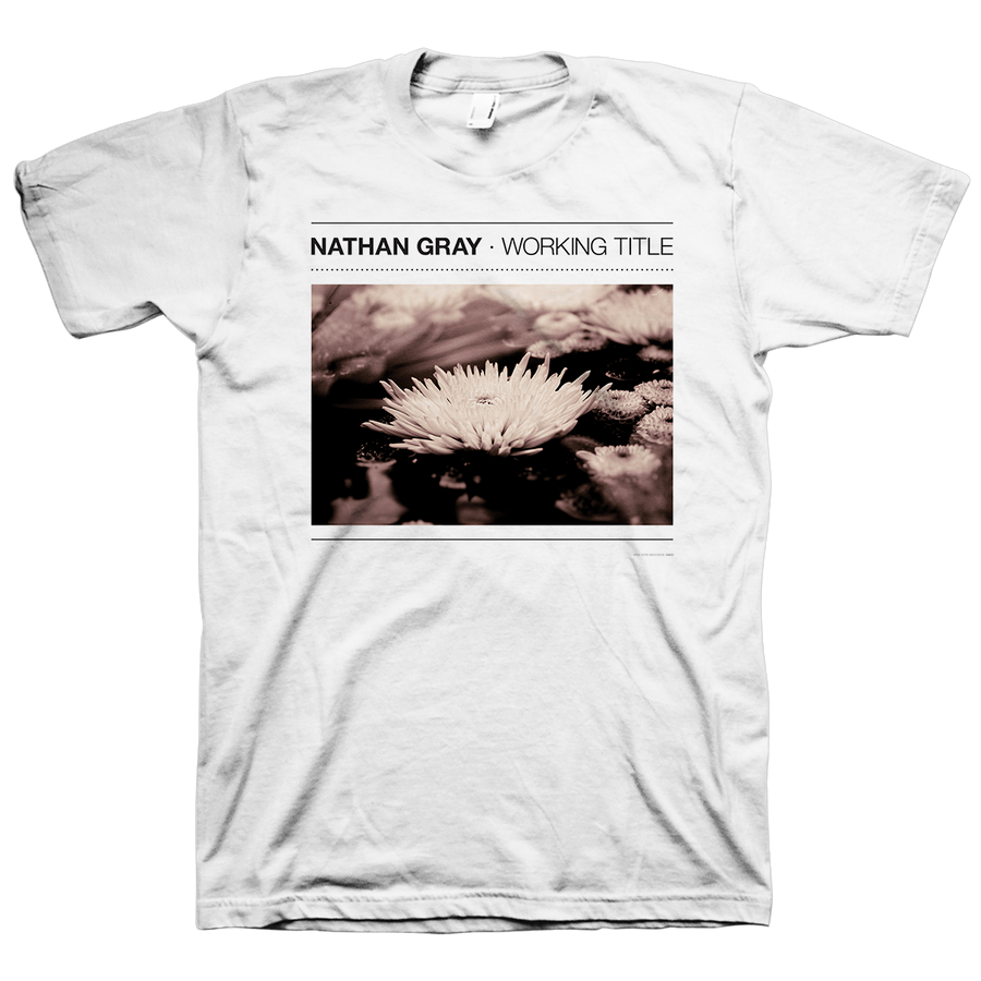 "Nathan Gray ""Working Title"" White T-Shirt"