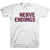 "Nerve Endings ""Logo"" White T-Shirt"