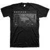 "Nervous ""Police"" Black T-Shirt"