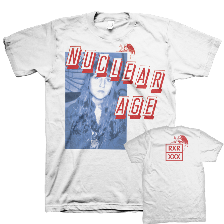 "Nuclear Age ""Devil"" White T-Shirt"