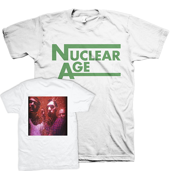 "Nuclear Age ""Photo"" White T-Shirt"