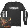 "Obstruktion ""Monarchs Of Decay"" Black Longsleeve"
