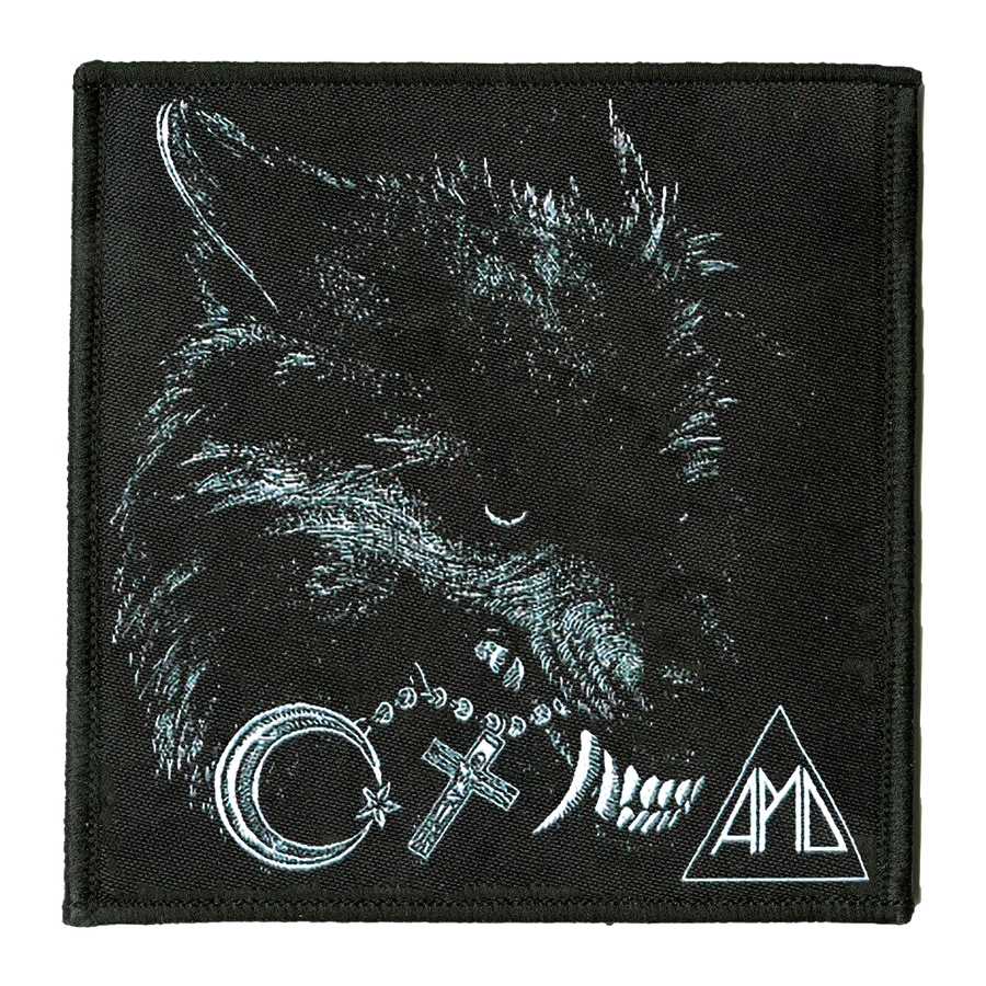 "All Pigs Must Die ""Wolf"" Embroidered Patch"