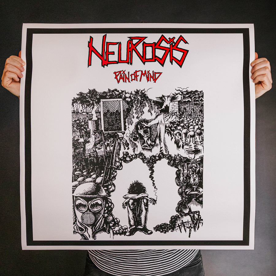 "Neurosis ""Pain Of Mind"" Giclee Print"