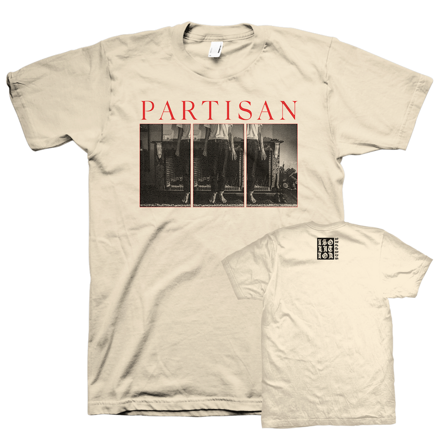"Partisan ""Believe"" Beige T-Shirt"