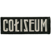 "Coliseum ""Logo"" Embroidered Patch"