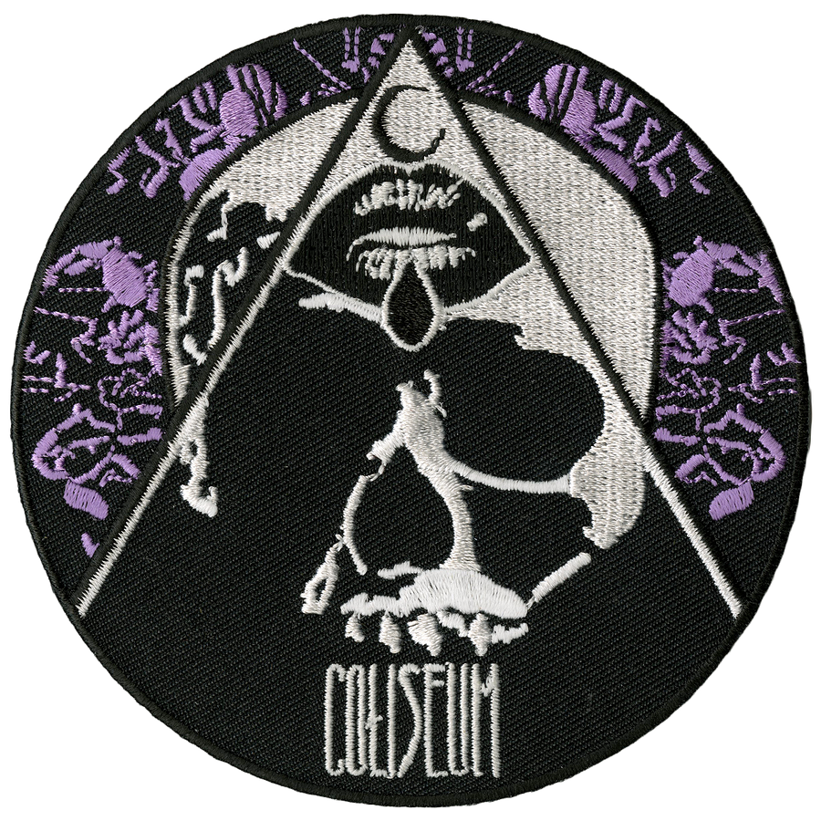 "Coliseum ""Skull"" Embroidered Patch"