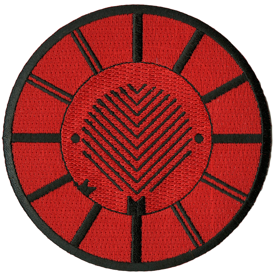 "Converge ""Symbol: Red"" Embroidered Patch"