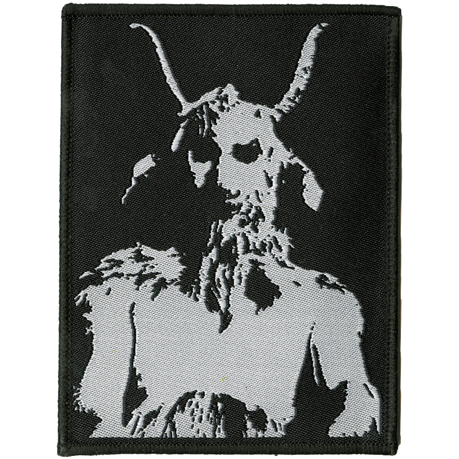 "Cursed ""He-Goat"" Embroidered Patch"