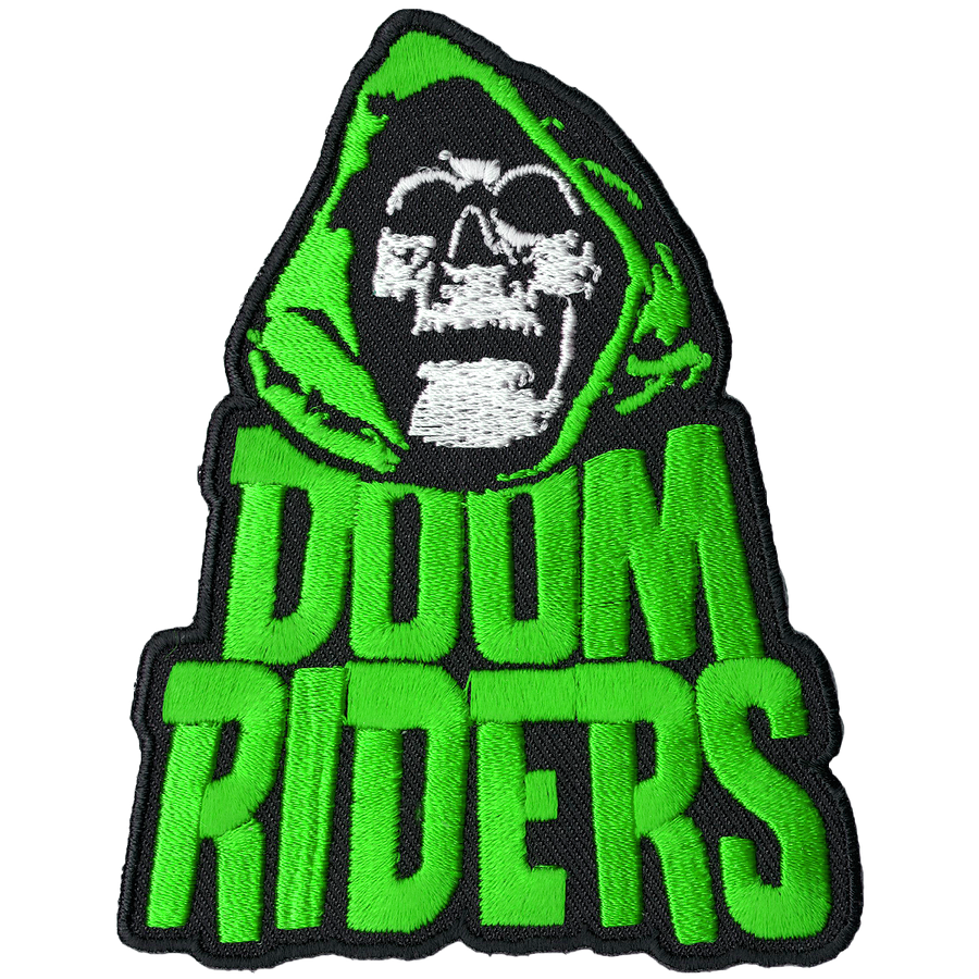 "Doomriders ""Green Reaper"" Embroidered Patch"