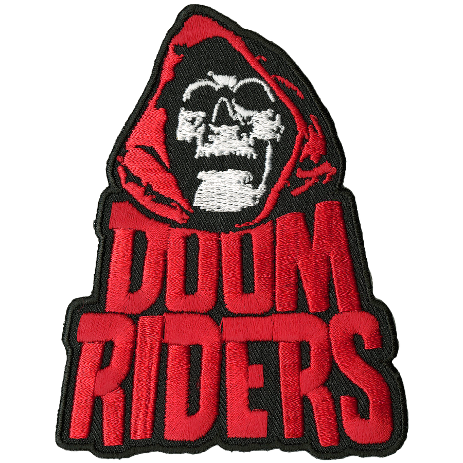 "Doomriders ""Red Reaper"" Embroidered Patch"