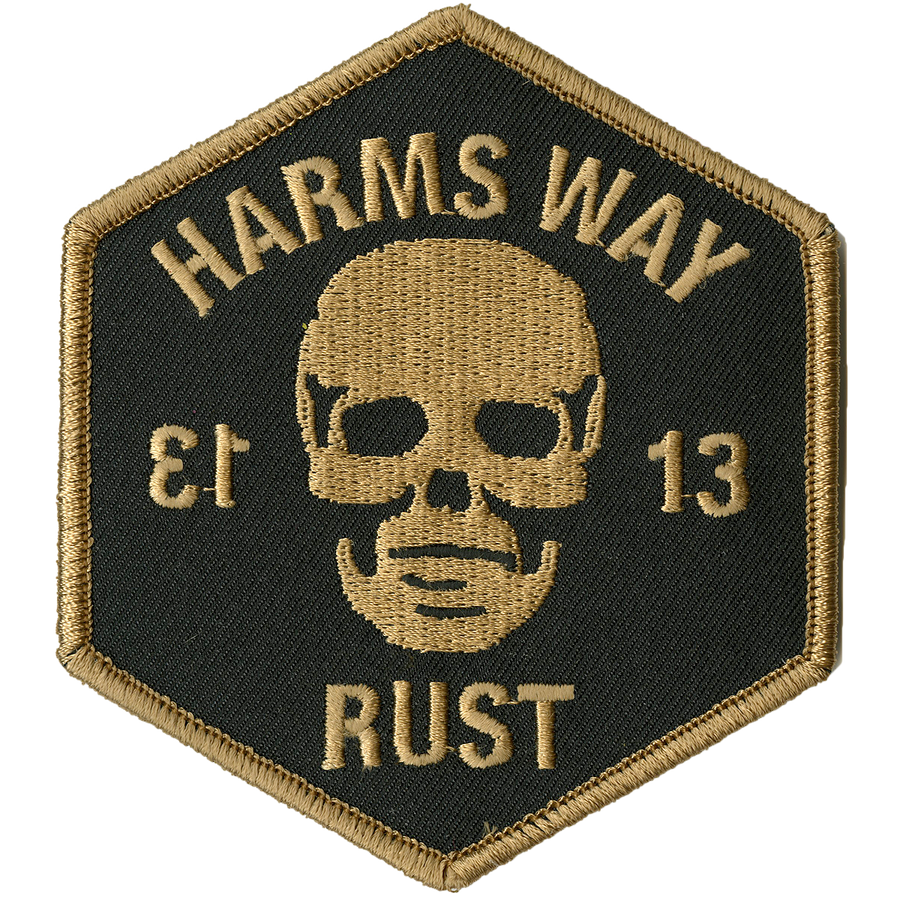 "Harm's Way ""13 - Positive"" Embroidered Patch"
