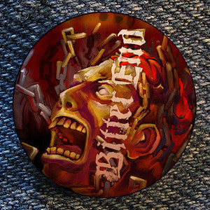 "Bitter End ""Mind In Chains"" Button"