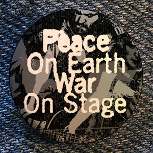 "Blacklisted ""Peace On Earth..."" Button"