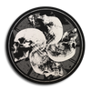 "Converge ""Four Skulls"" Button"