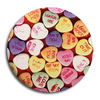 "Give Up The Ghost ""Candy Hearts"" Button"