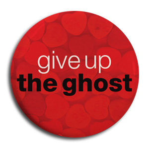 "Give Up The Ghost ""We're Down... Red"" Button"