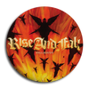 "Rise And Fall ""Hellmouth"" Button"