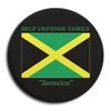 "Self Defense Family ""Jamaica"" Button"