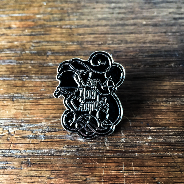 "Wear Your Wounds ""Logo"" Enamel Pin"