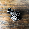"Wear Your Wounds ""WYW"" Enamel Pin"