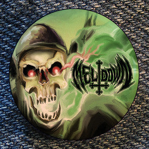 "Meltdown ""Demolition Close Up"" Button"