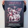 "Converge ""Summer Tour 2016: Archangel"" Poster"