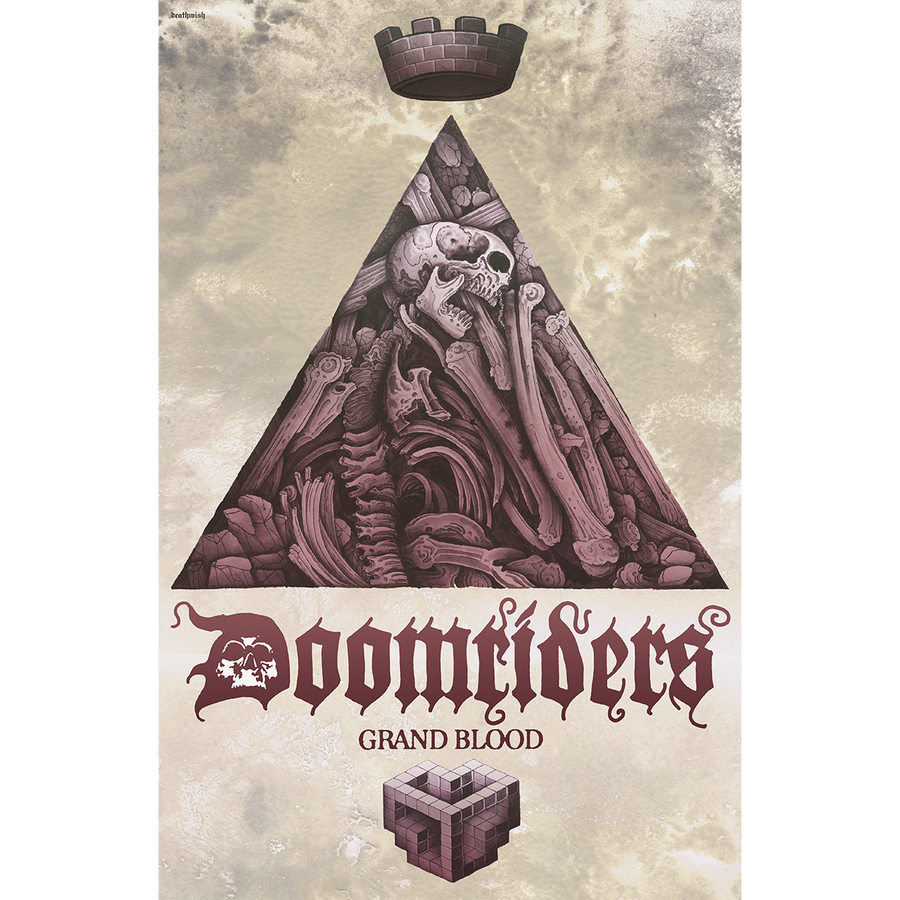 "Doomriders ""Grand Blood"" Poster"