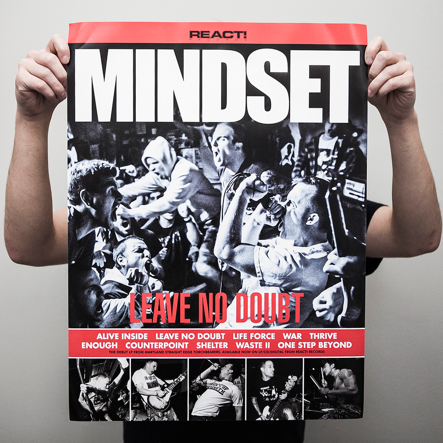 "Mindset ""Leave No Doubt"" Poster"