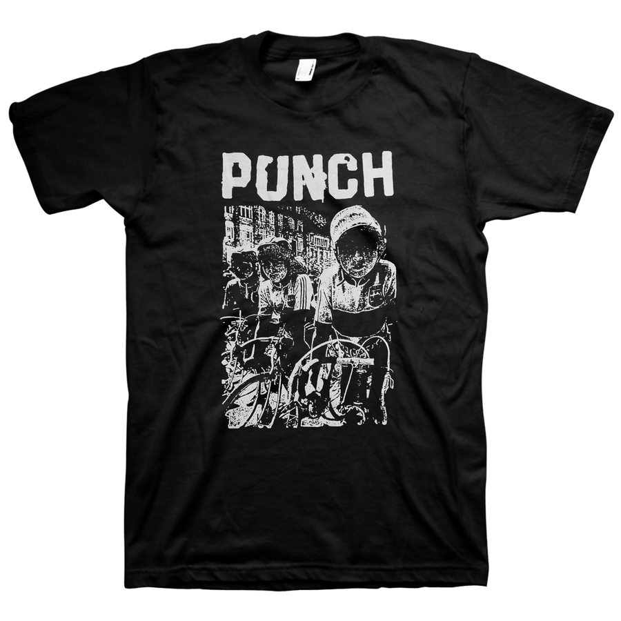 "Punch ""Bikers"" Black T-Shirt"