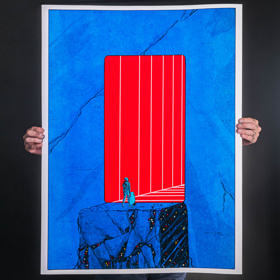 "Nick Pyle ""New Gate"" Giclee Print"