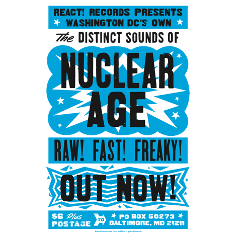 "Nuclear Age ""The Distinct Sounds Of..."" Print"