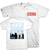 "React Records ""Baltimore"" White T-Shirt"