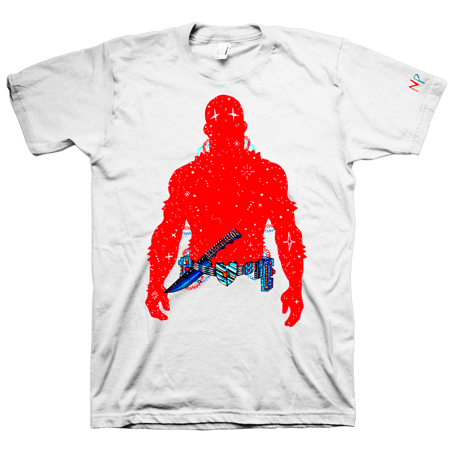 "Nick Pyle ""Red"" White T-Shirt"