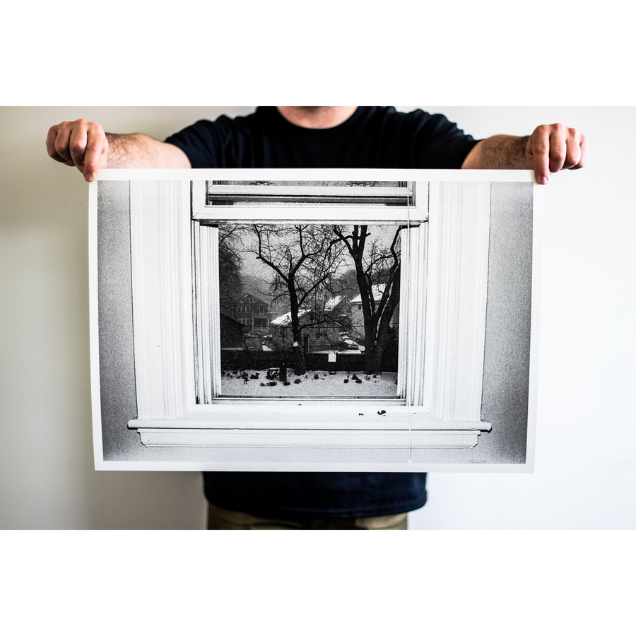 "Reid Haithcock ""Winter Series: Window"" Giclee Print"