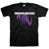 "Renounced ""Beauty Is A Destructive Angel"" Black T-Shirt"