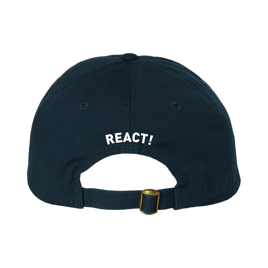 "React! ""Logo"" Navy Hat"