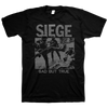 "Siege ""Sad But True"" Black T-Shirt"