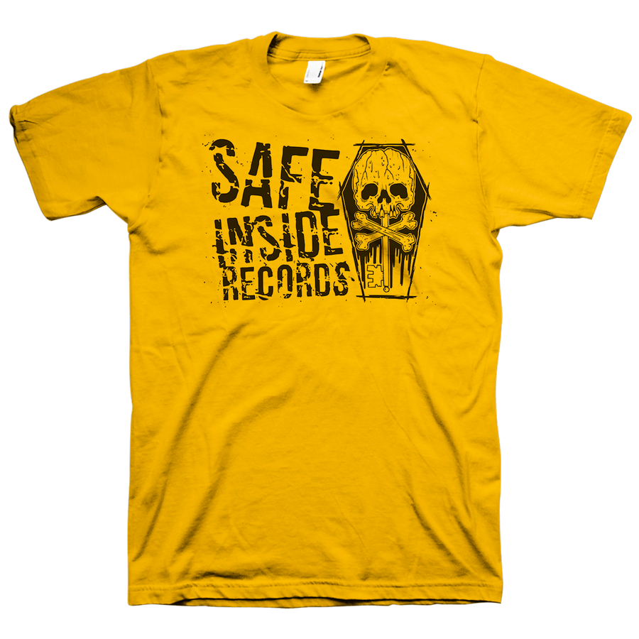 "Safe Inside ""Logo"" Gold Champion T-Shirt"