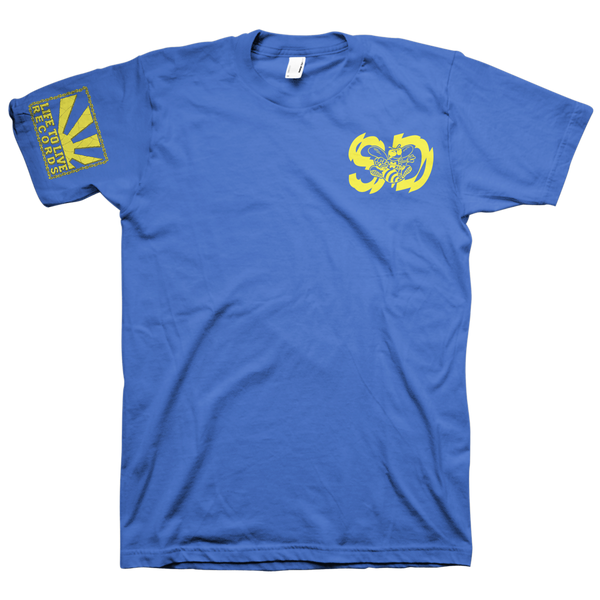 "Self Destruct ""High Voltage"" Blue T-Shirt"