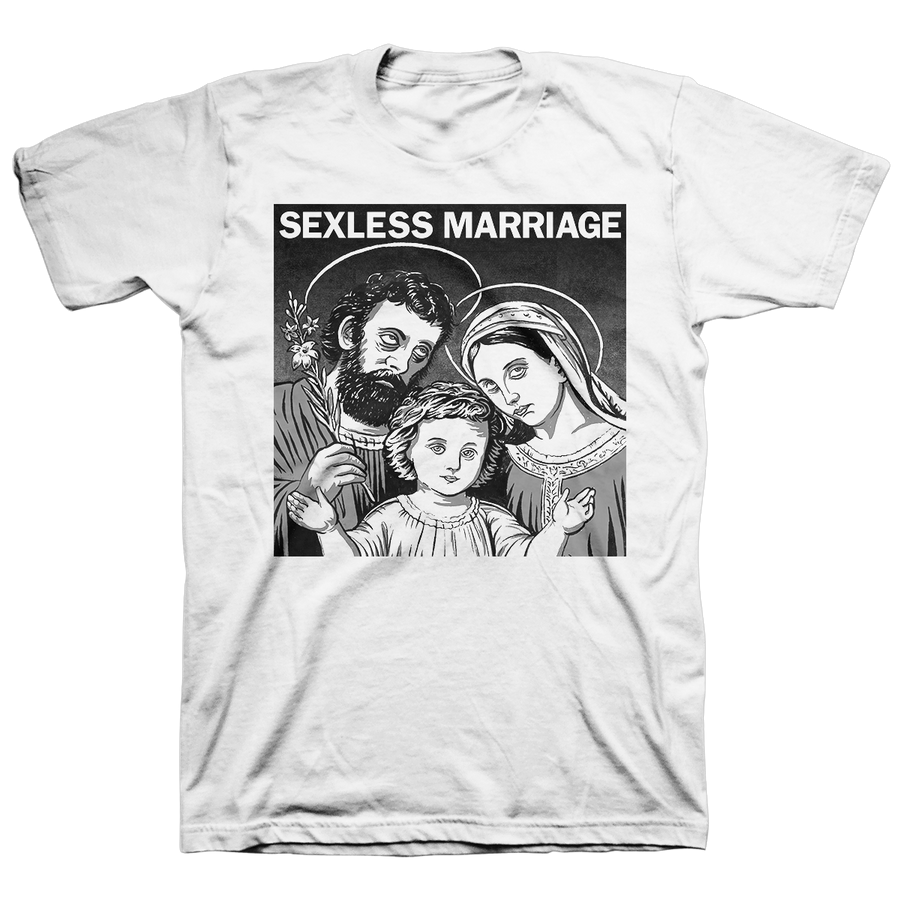 "Sexless Marriage ""Sexless Marriage"" White T-Shirt"