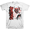 "Detain ""Capital Punishment"" White T-Shirt"