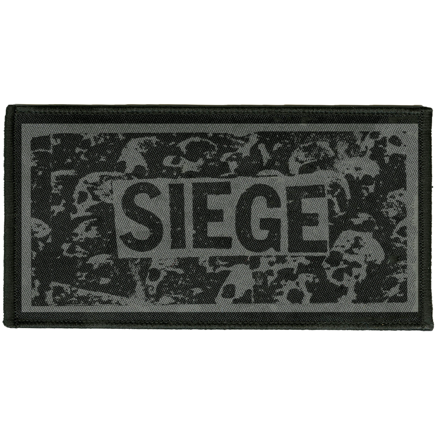 "Siege ""Logo"" Embroidered Patch"